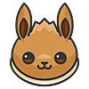 Avatar iconfinder  eevee 1337469